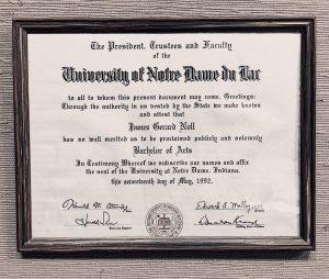 james-noll-degree